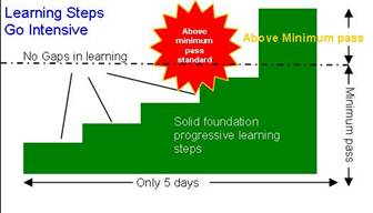 GoGoGo Intensive reduce the learning gaps with 5 day driving courses
